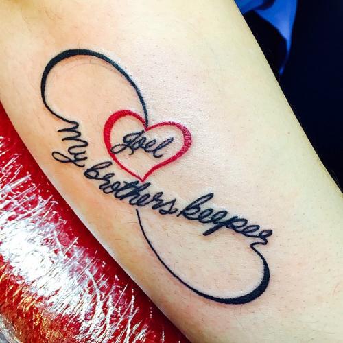 I Am My Brothers Keeper Tattoo For Females Tattoos Pinterest