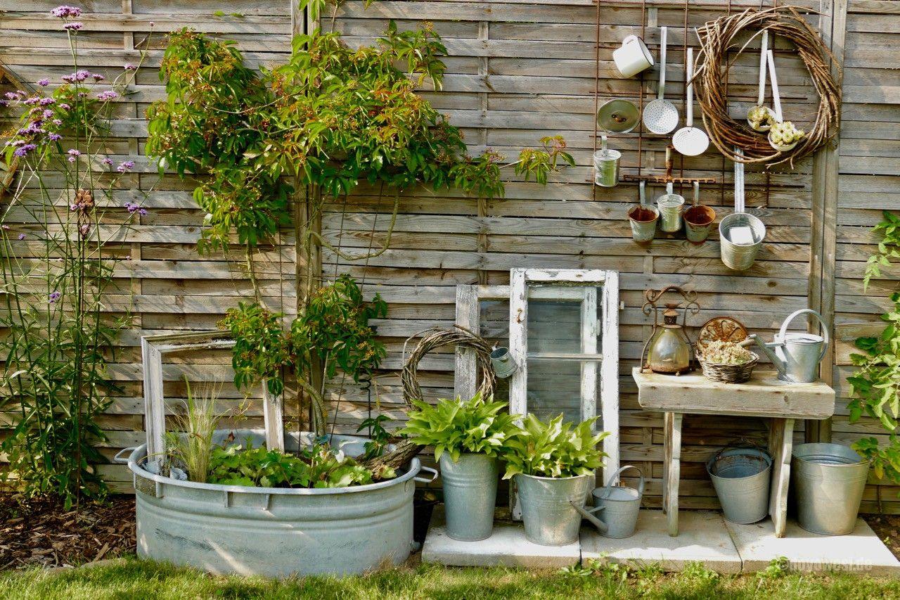 Zu Besuch Bei Silke Karinurbannaturalstyle Garten Deko