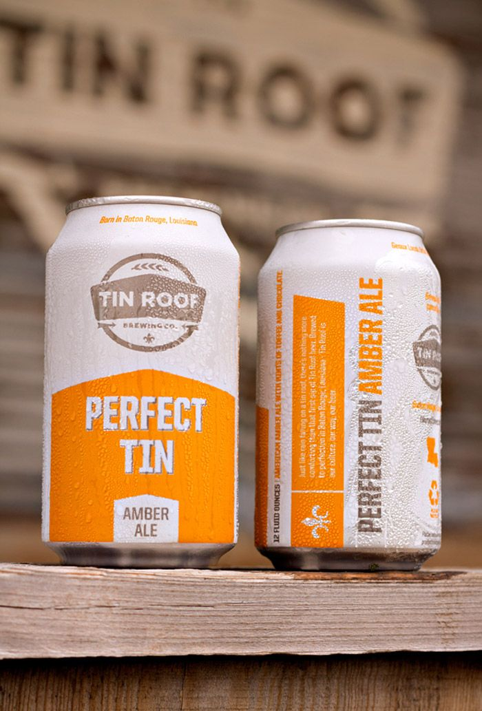 Tin Roof Brewing Co Design Thinking Beer Label Design