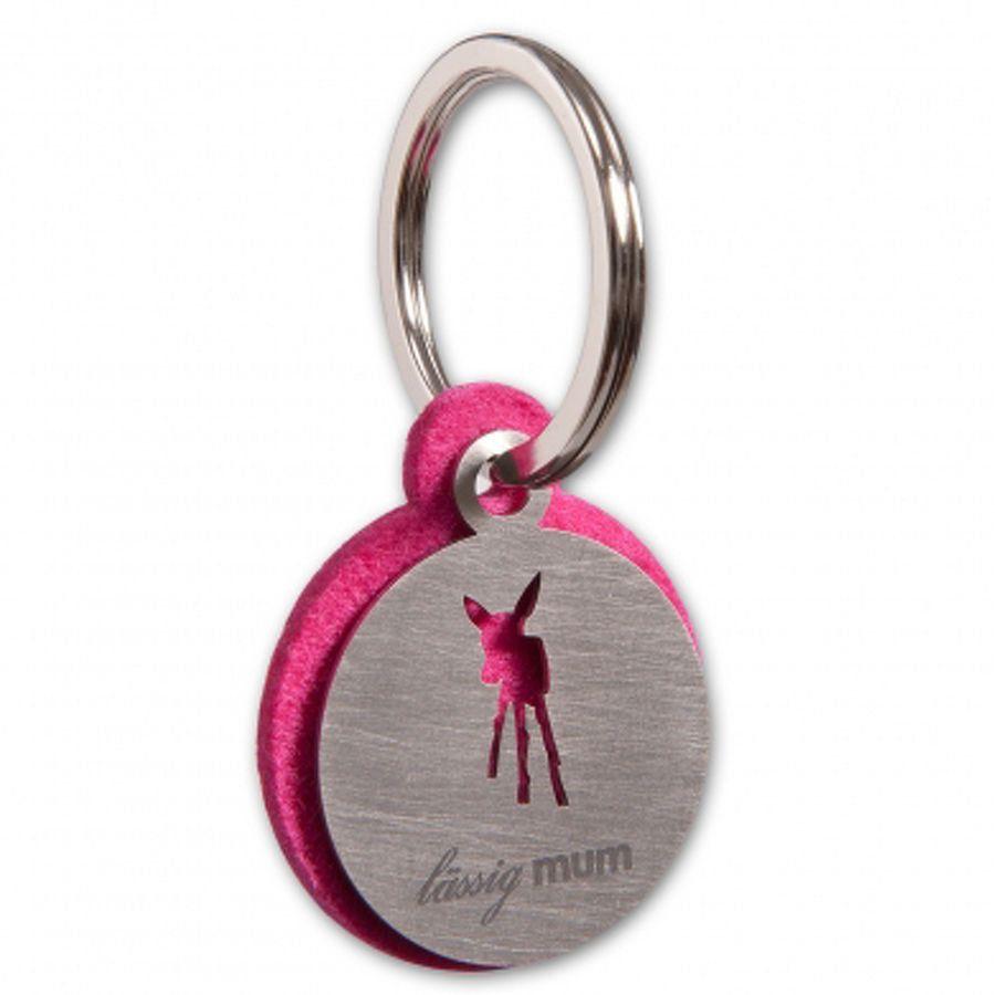 LÄSSIG Schlüsselanhänger pink #Lässig #Schlüsselanhänger #Mädchen #Pink #Rehkitz