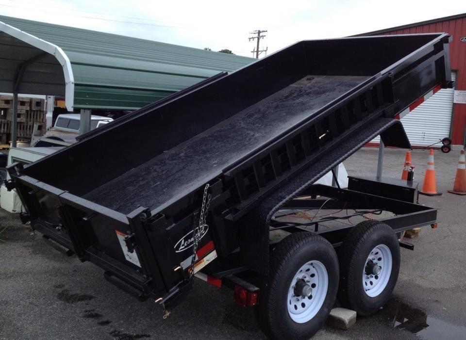 Dump trailers leonard buildings truck accessories in