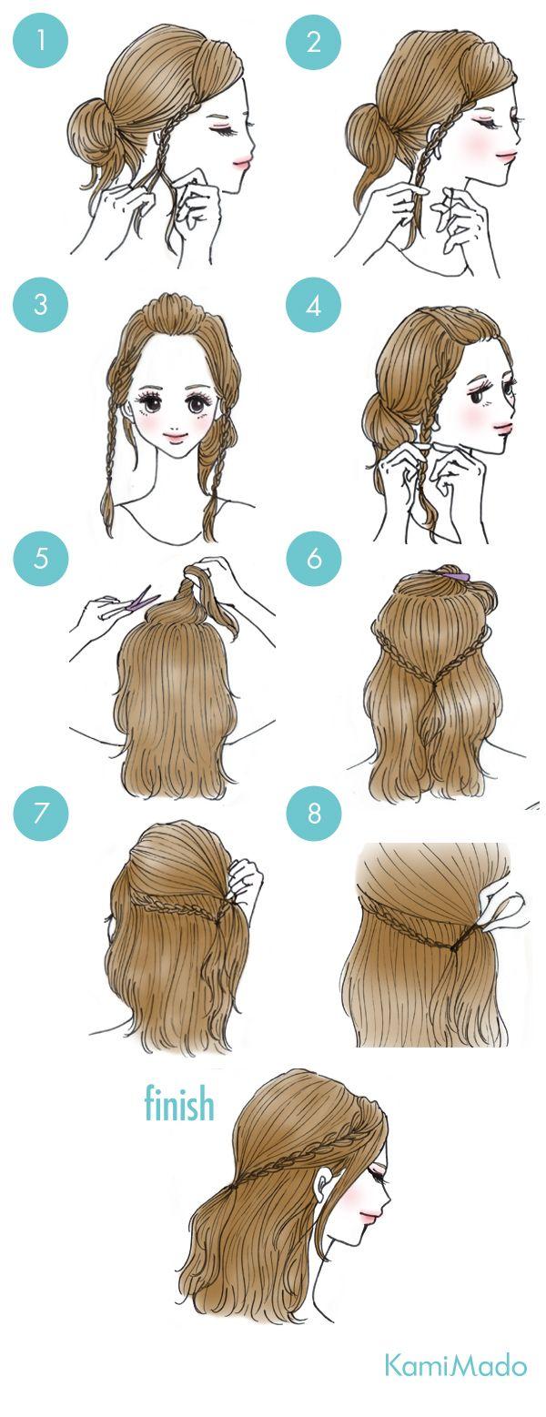 Peinadoox cute hair styles pinterest hair style makeup and