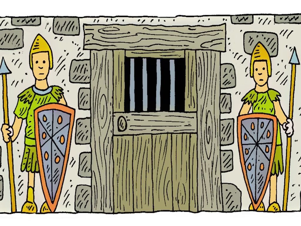 Free Paul and Silas in Prison visuals