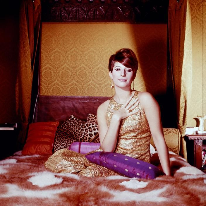 The Redford Apartments: Philippe Halsman, Portrait Of Barbra Streisand, New York
