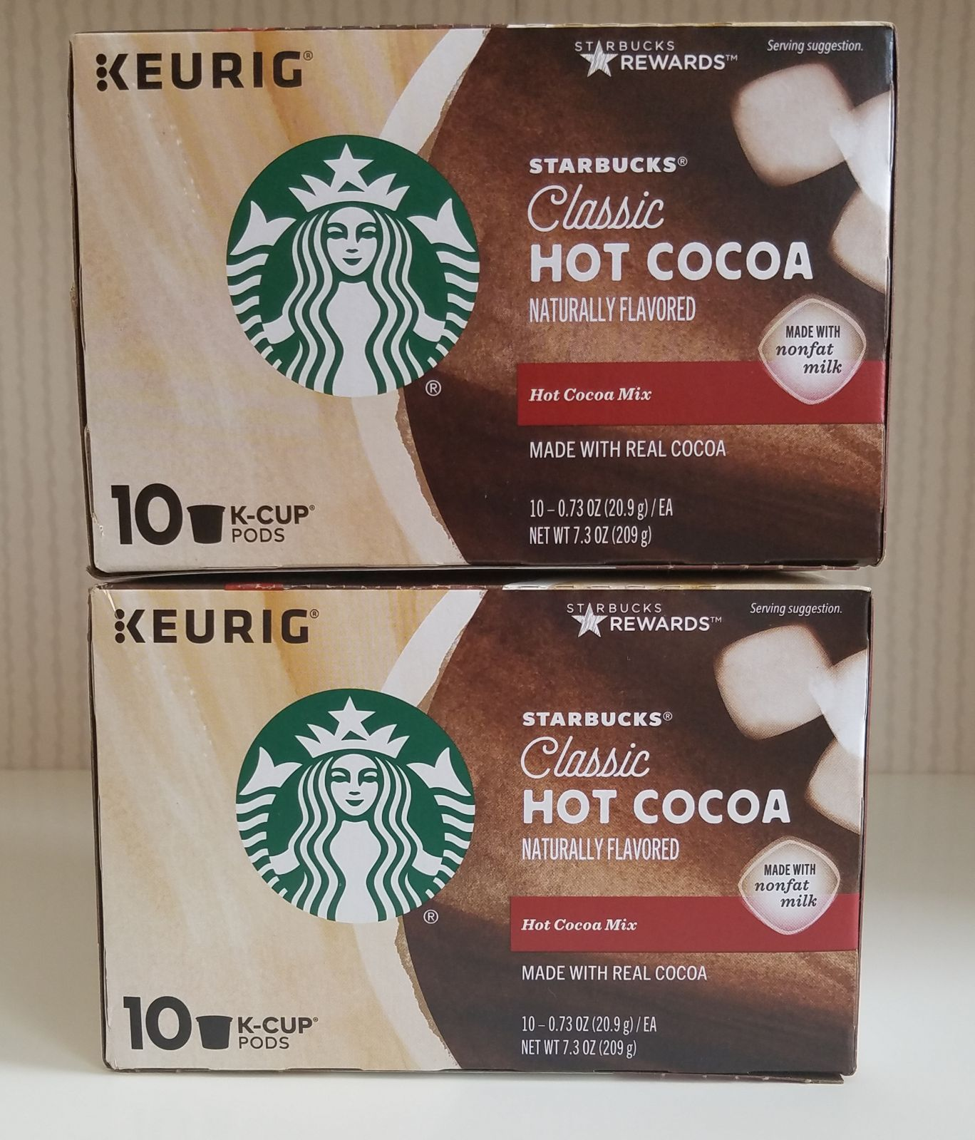 Brand New Keurig Starbucks Classic Hot Cocoa K Cup Pods