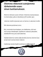 """Anteeksipyyntö, joka ei ollut anteeksipyyntö – """"Volkswagenin ilmoituksen tyylilaji on kolkko"""" - Volkswagen - Auto - Helsingin Sanomat"""