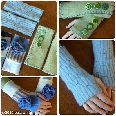 if you live in or near the Virginia/Maryland/Washington DC area, Betz White will be teaching a Felted Wrist Warmers class on March 25th...