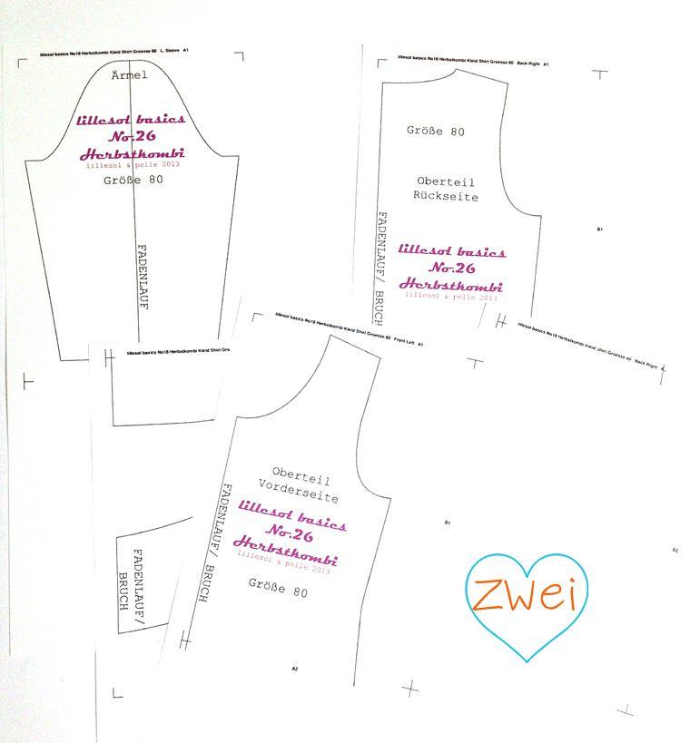 anleitung schnittmuster vergr ern verkleinern sewing. Black Bedroom Furniture Sets. Home Design Ideas