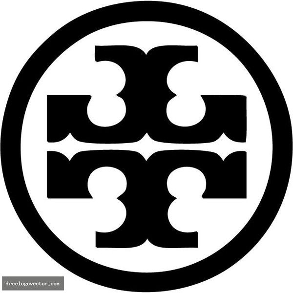 d01ab725257f Logo Vector t - Tory Burch » Free Logo Vector Graphics download and... ❤  liked on Polyvore featuring logo