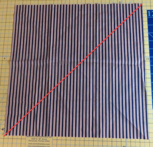 How To Make Continuous Bias Binding By Sewing Two Seams