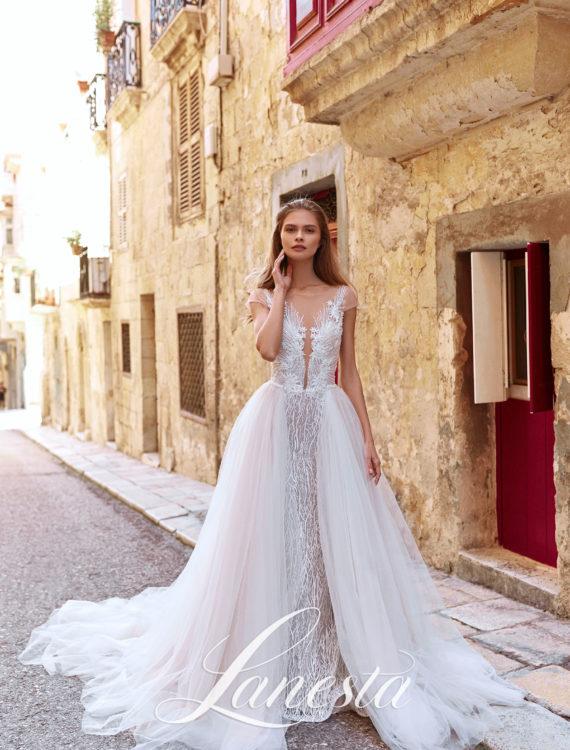 Trouwjurk Puerto Rico Lanesta Armonia Honeymoon Shop In 2020 Trouwjurk Trouwjurkstijlen Lace Wedding Dress