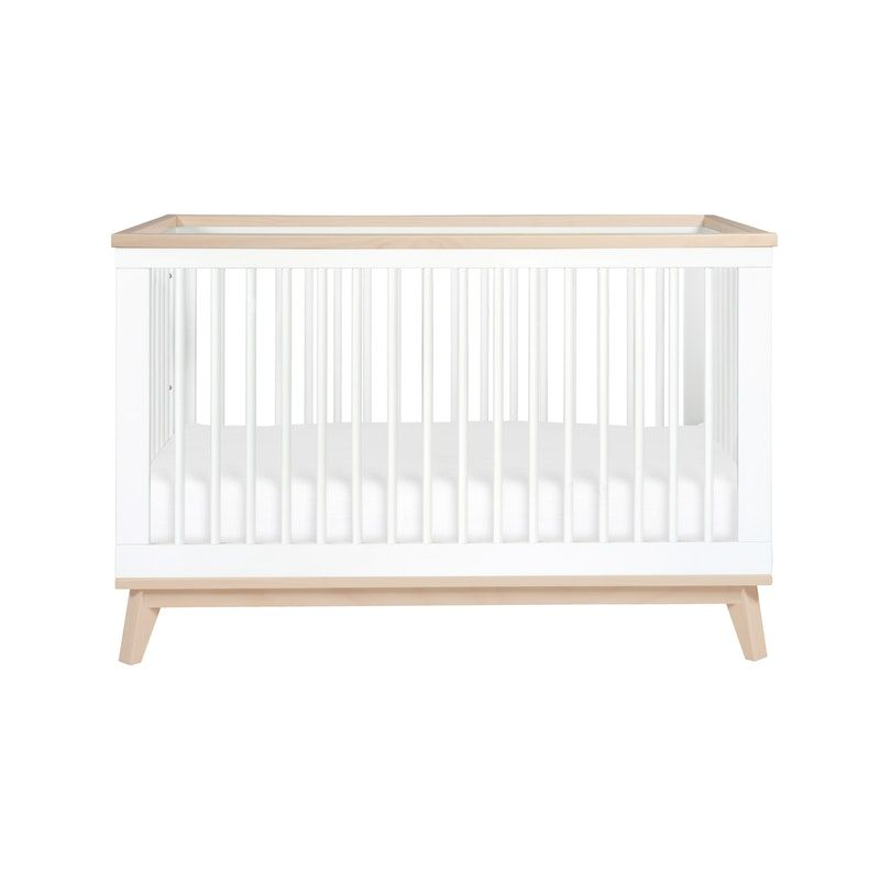 Babyletto Scoot 3 In 1 Convertible Crib White Washed