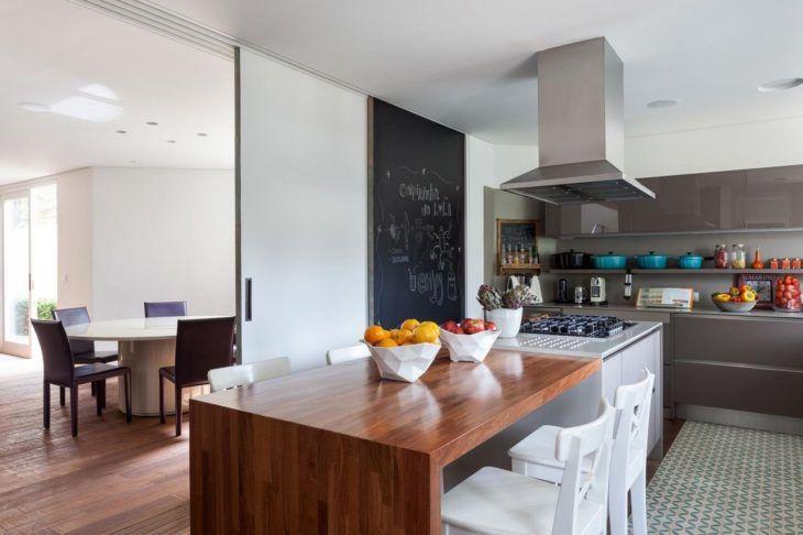 100 inspirações de cozinhas gourmet que vão fazer você