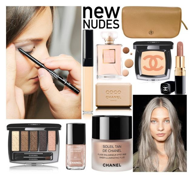 """""""Senza titolo #4256"""" by lisadcruciani ❤ liked on Polyvore featuring Chanel and Lumière"""