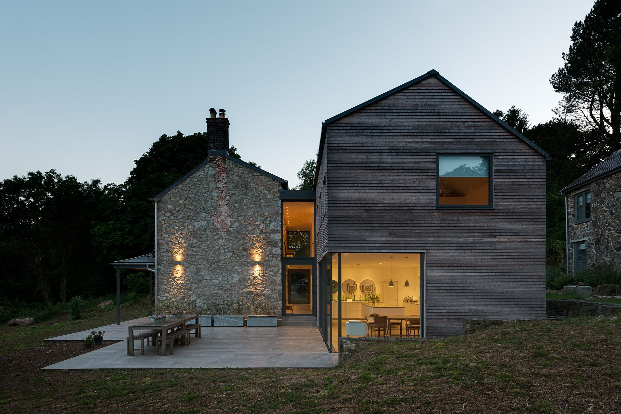A Large Extension And Refurbishment Of A Georgian House In South