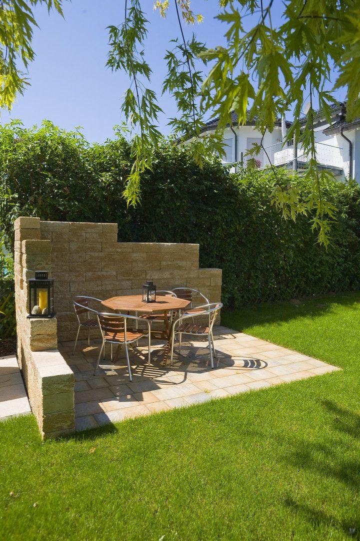 Mauergestaltung Im Garten einen ruhigen sitzbereich im garten schaffen das geht prima mit der