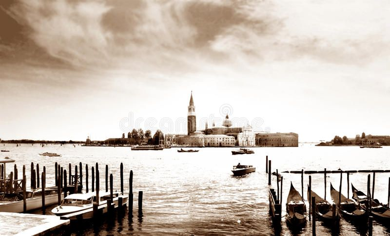 Venice. Water city with gondola , SPONSORED, Water,