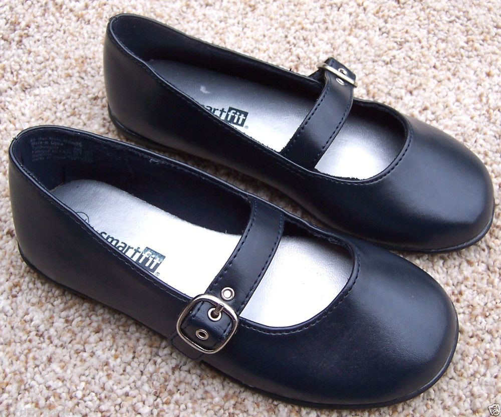 Girls Smartfit Shoes Size 11 Blue Mary