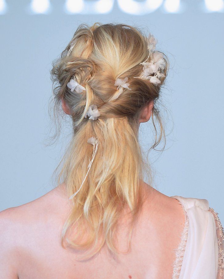 Pin for Later: Zoom In on the Regal Hair and Makeup Looks From Bridal Fashion Week Marchesa Bridal Spring 2015