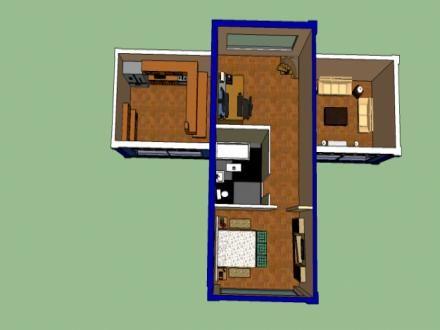 Casa de contenedores maritimos arq containers pinterest contenedores maritimos chile y - Como hacer una casa con un contenedor maritimo ...