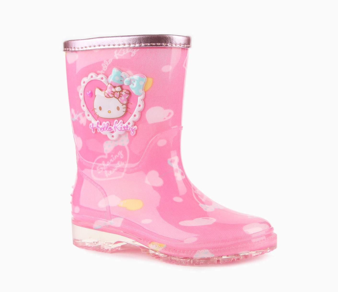 Sanrio Hello Kitty Rain Boots: Sharing Hearts | Fab Fashion For ...
