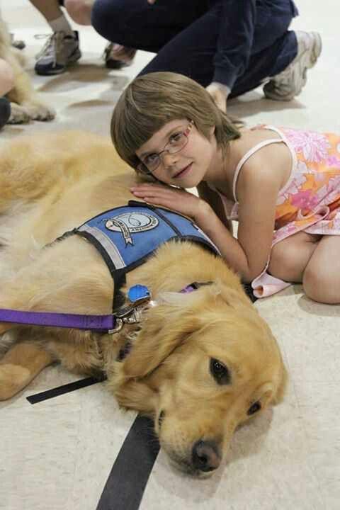 K-9 Parish Comfort Dog, Abbi made a new little friend today!!