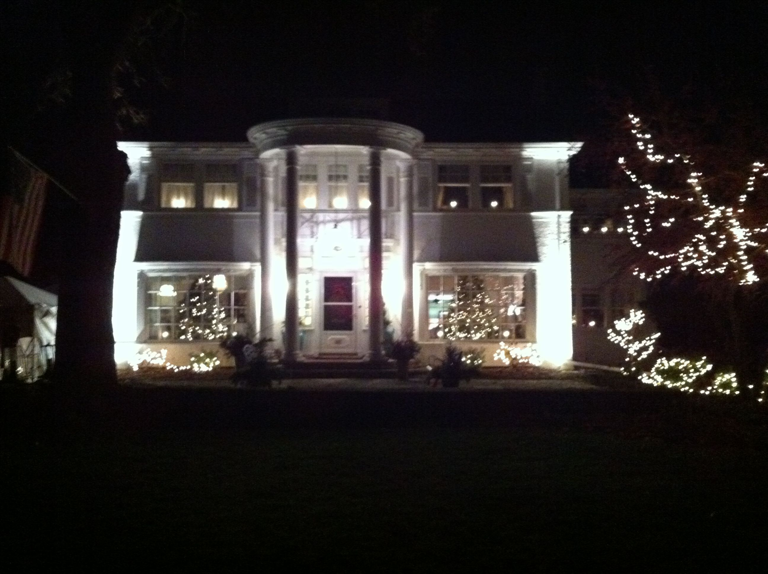 The Outside Of The Historic Astor Park Home In Green Bay, WI That We  Decorated