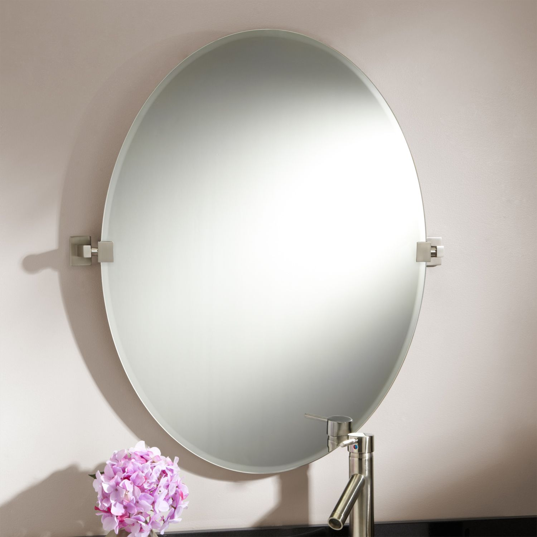 31 Quot Helsinki Oval Tilting Mirror Arredamento Bagno Bagno