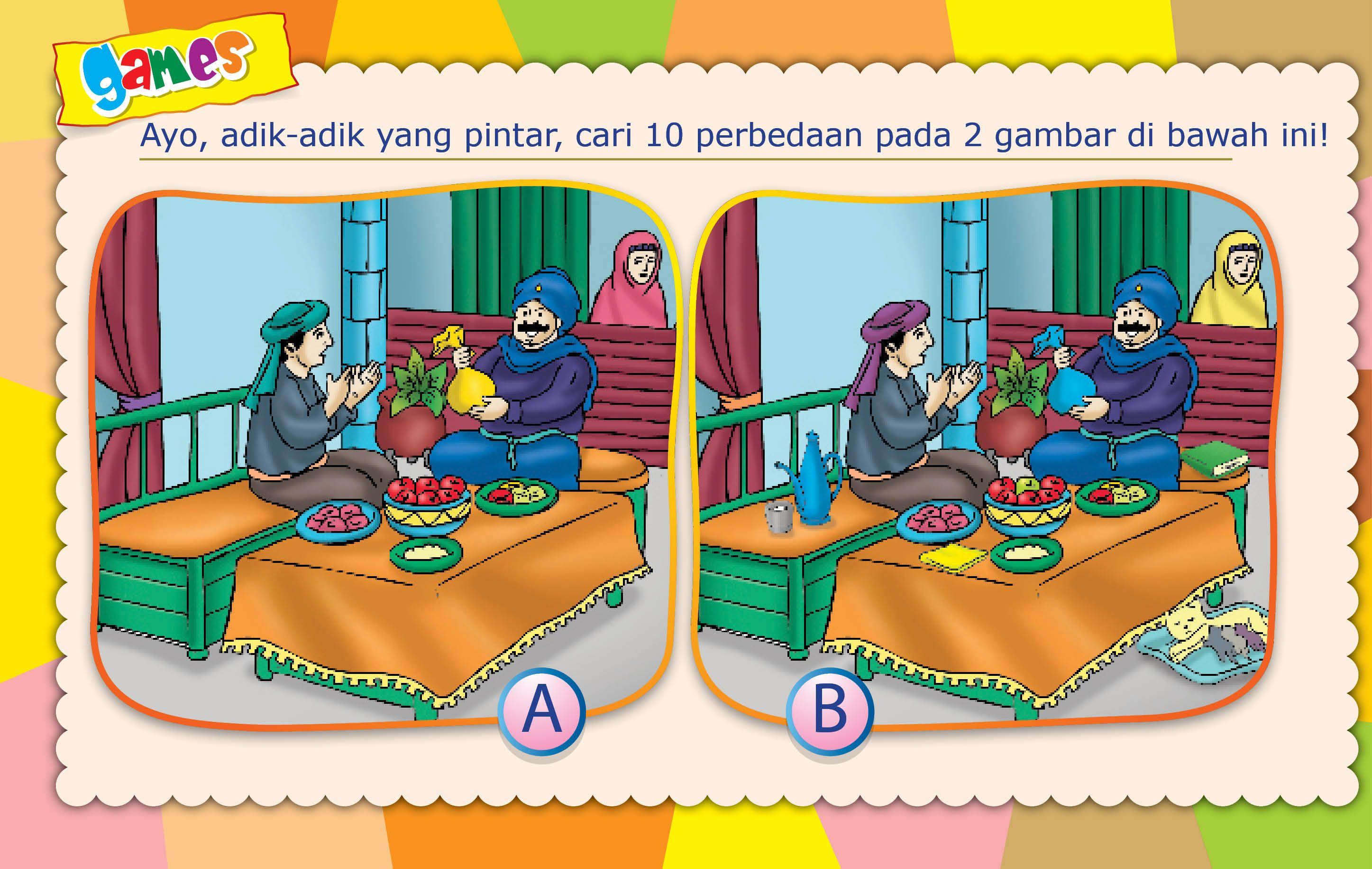 Menemukan Perbedaan Gambar Gambar Anak Pendidikan