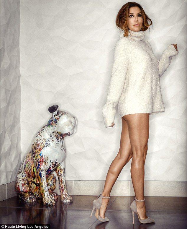 Eva Longoria, 42, Shows Off Toned Legs And Pert Derriere -2468