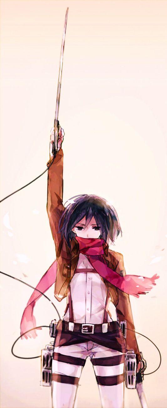 Photo of Mikasa Akerman – Attack on Titan #fanart #manga #anime #animegirl #GG  ^^ /