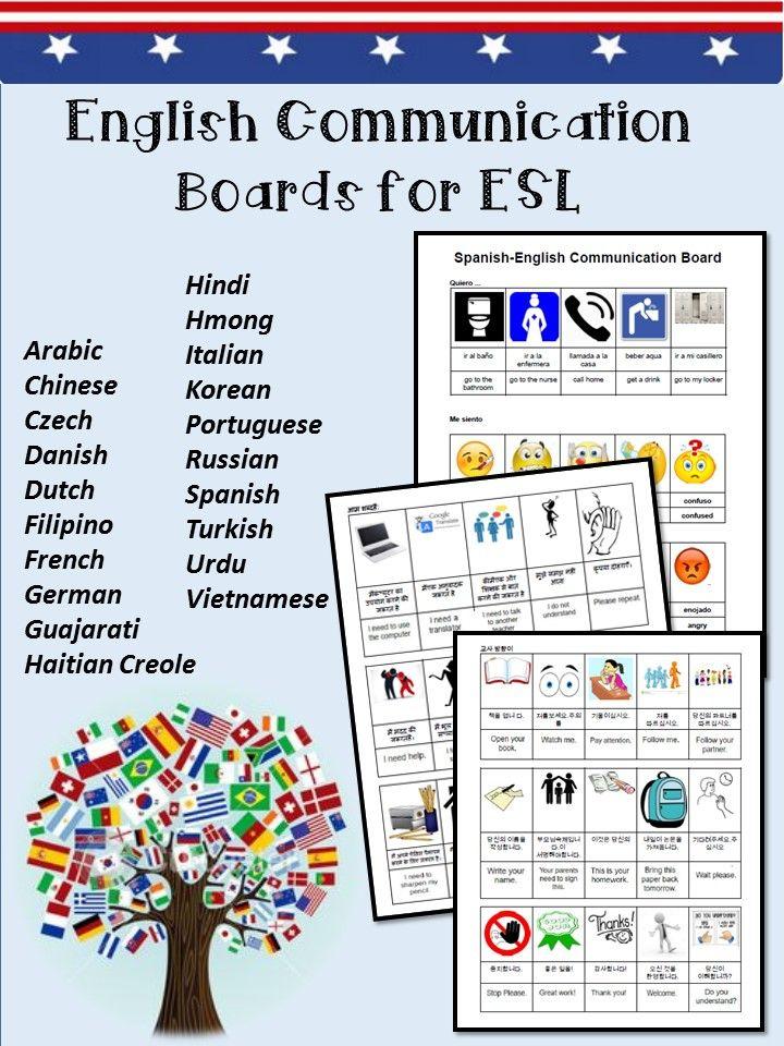 https://www.teacherspayteachers.com/Product/ESL-Communication-Boards ...