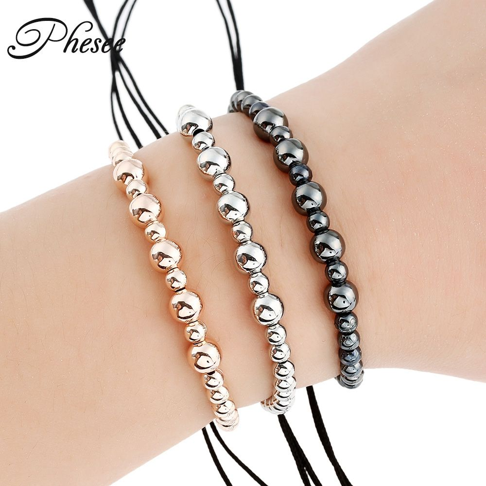Phesee new arrival high quality trendy color men cz ball