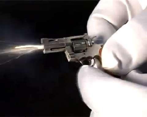 Incredibly Tiny Swiss Mini Gun   Military com   cool   Guns, Hand