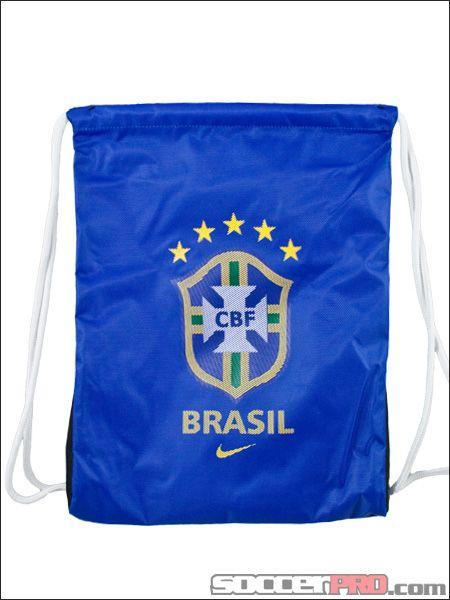Nike Brasil Gymsack - Royal with Yellow...$10.49
