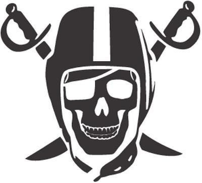Vinyl Decal Sticker Oakland Raiders Decal For Windows Cars Laptops Macbook Yeti Coolers Mugs Etc Oakland Raiders Football Nfl Raiders Raider Nation