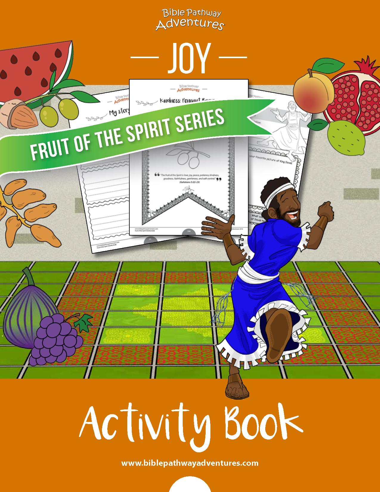 Joy Fruit Of The Spirit Activity Book Amp Lesson Plan