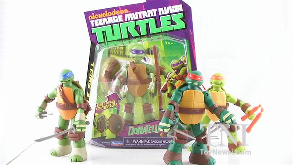 Nickelodeon TMNT Battle Shell Turtles In-Hand Images - TMNT - Action Figures Toys News ToyNewsI.com