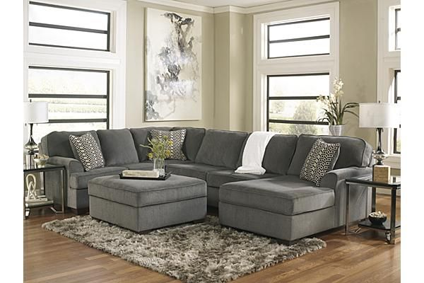 The Loric 3 Piece Sectional From Ashley Furniture