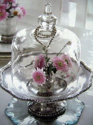 Silver & Glass Cloche