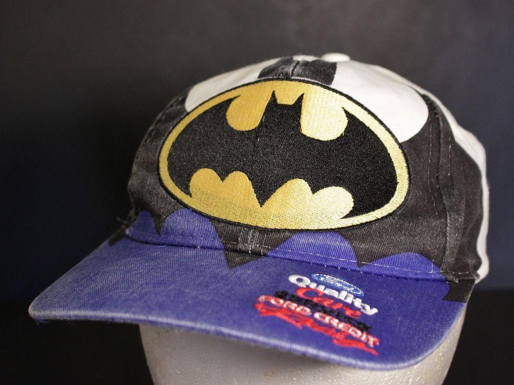 Vintage Dale Jarrett Hat Baseball Cap Batman Joker Ford Racing Snapback 88  Retro  ChaseAuthentics  BaseballCap 84b69b1f78e