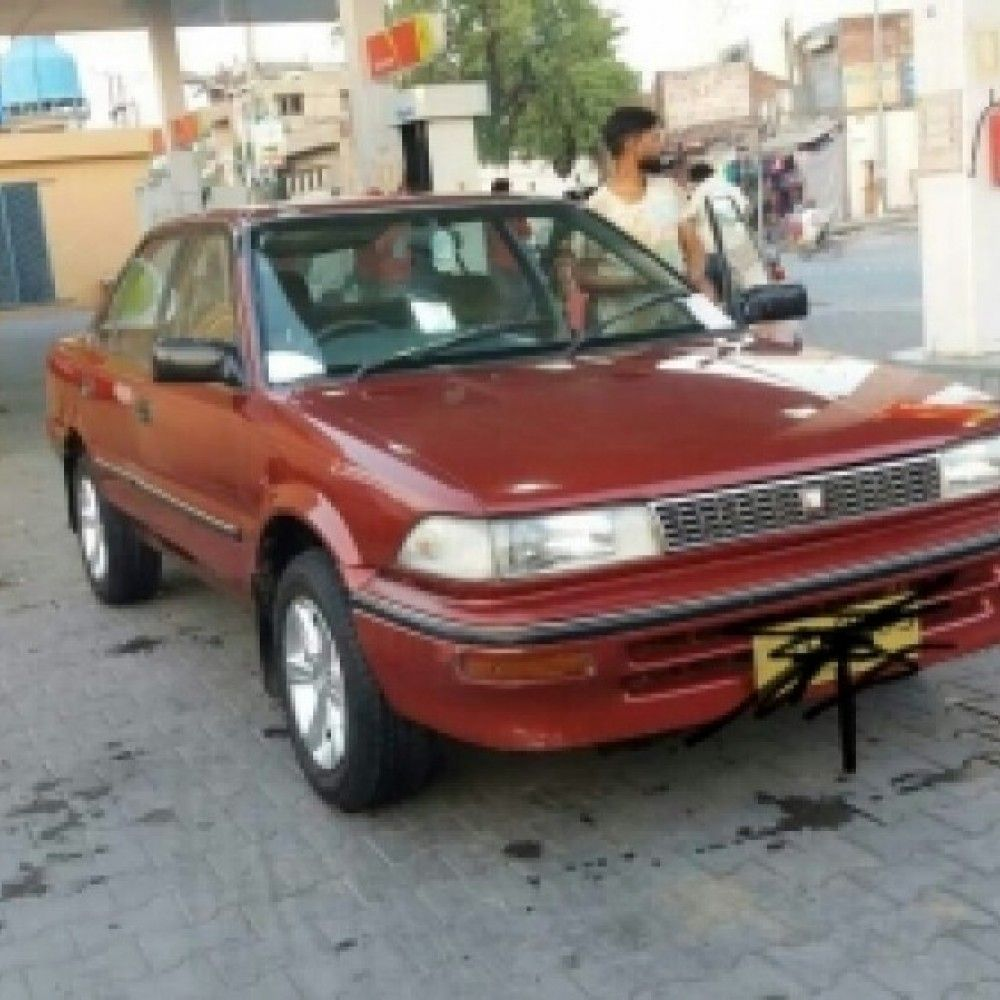 Comments By Seller Toyota Corolla 1990 Model Water Throwing Efi 1300cc Engine New Alloy Rims And Tyres Installed Shower For Fre Toyota Corolla Toyota Corolla