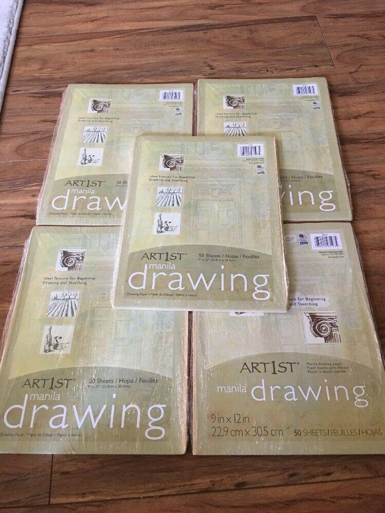 Cream Manila Drawing Paper 9x12-50 Sheets Pacon Corporation