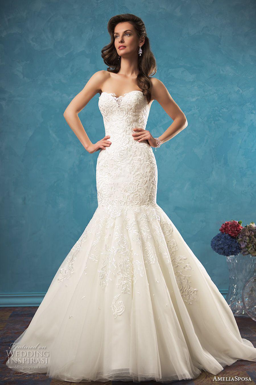 Amelia Sposa 2017 Wedding Dresses | Amelia sposa, Cathedral train ...