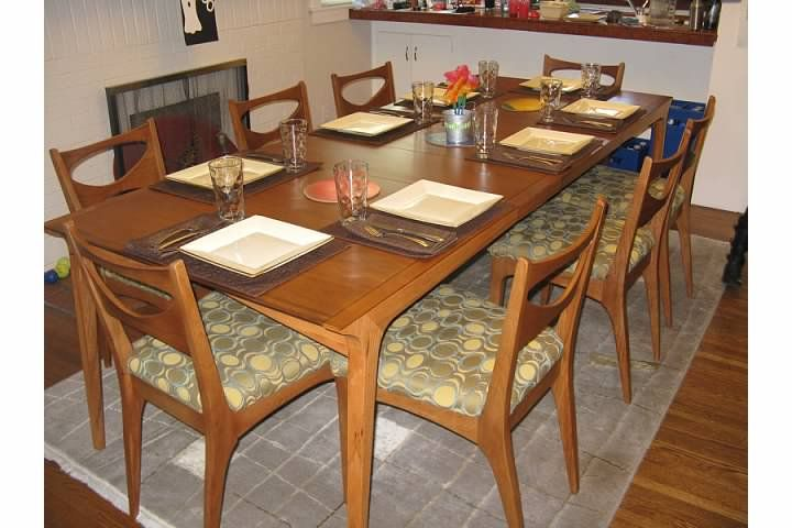 Mid Century Modern Drexel Profile Dining Set Just Bought A Set