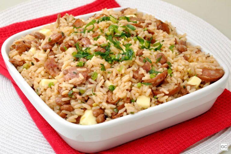 Baiao De Dois Na Pressao Receitas Baiao De Dois E Culinaria