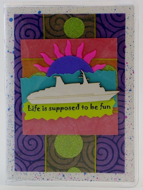 Cruise Passport Cover $12 Do you have a cruise on your mind, if so this passport cover would be a nice accessory.