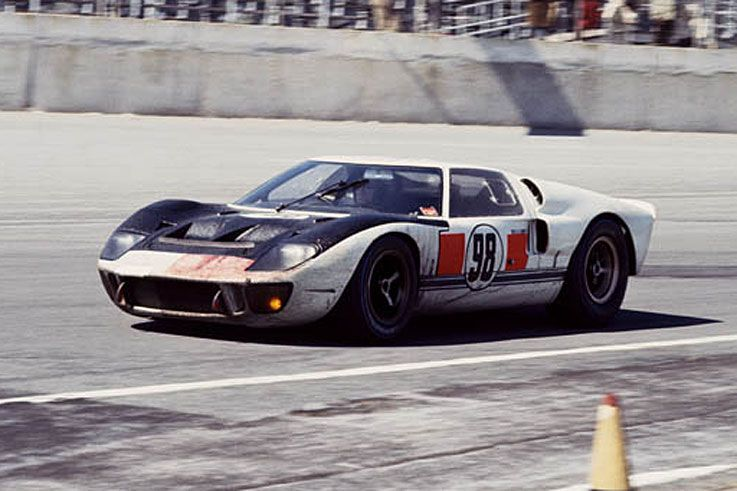 Winning Shelby Ford Gt40 Mk Ii At Daytona 1966 Ford Gt40 Ford