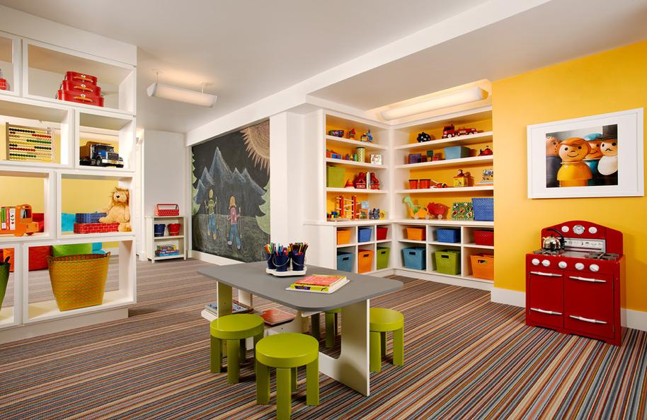 Children S Playroom Poss Architecture Design Playroom Design