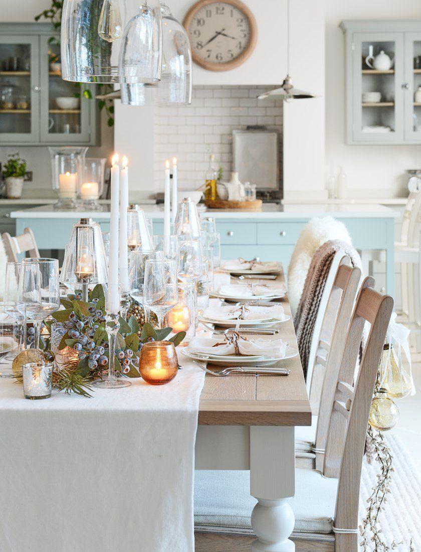 Three Christmas tabletop decoration ideas | Christmas table ...